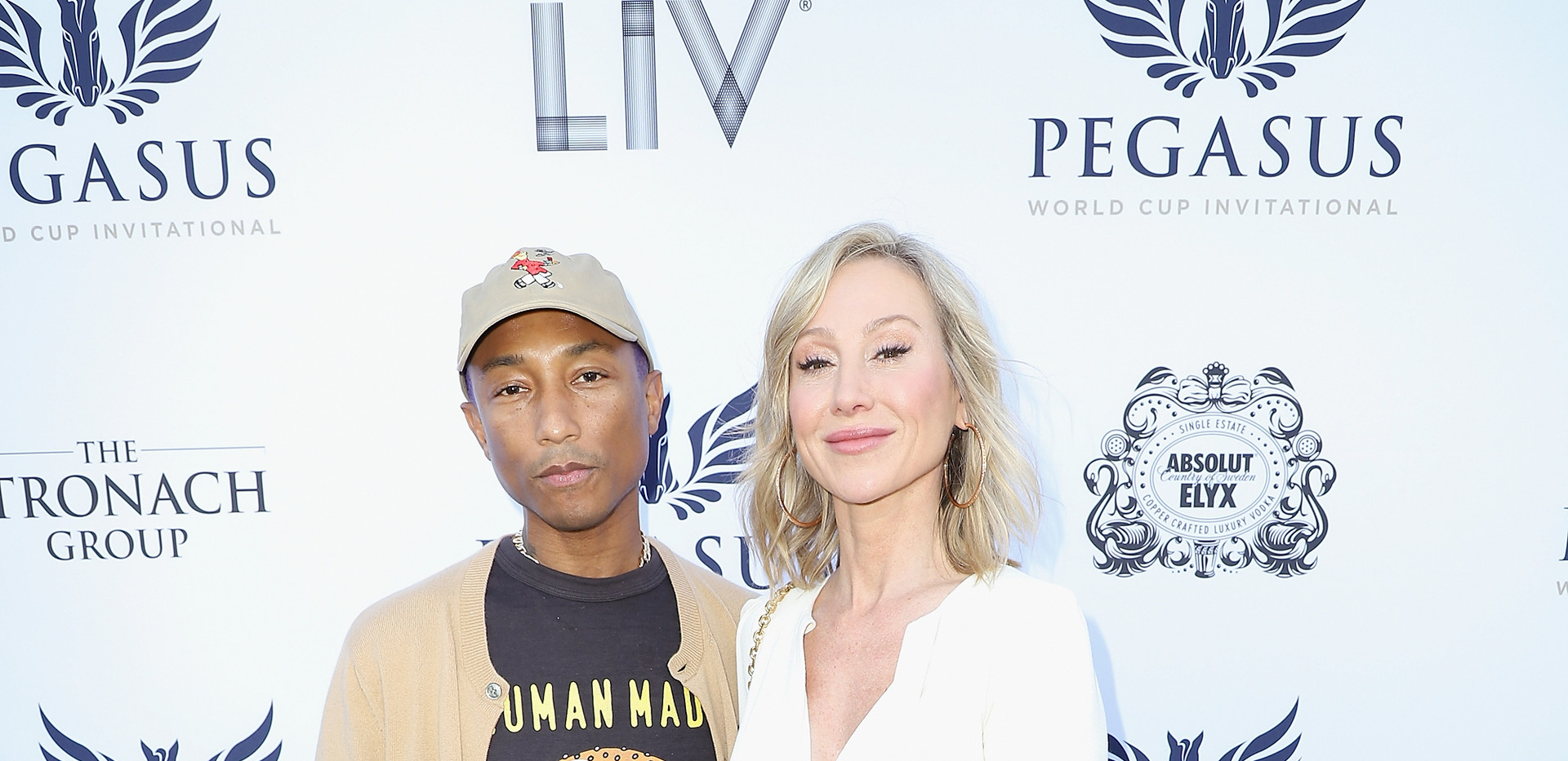 Pharrell Williams and Belinda Stronach a