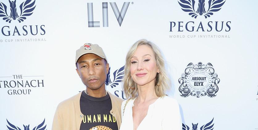 Pharrell Williams and Belinda Stronach a