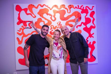 Mario Gonzalez, Liliana & Gustavo Oviedo