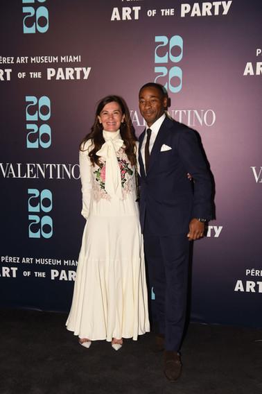 Sarah Harrelson Wearing Valentino & Fran