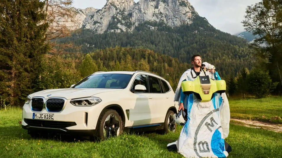 BMW'S flying suit