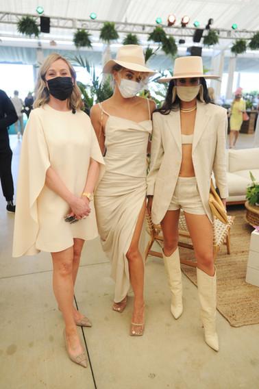 Belinda Stronach, Jasmine Sanders, & Isa