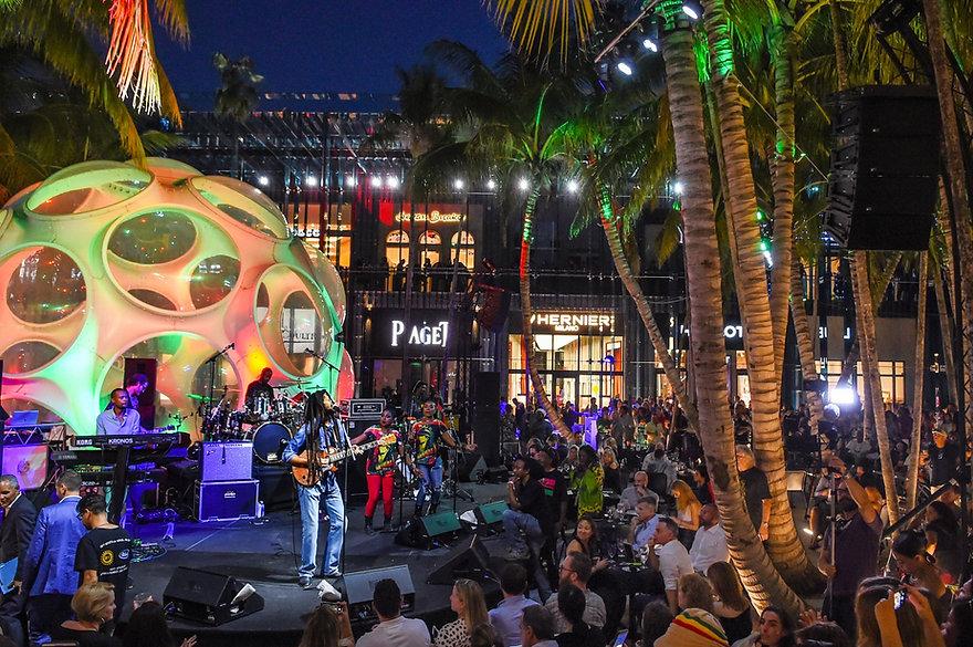 Live music in Miami