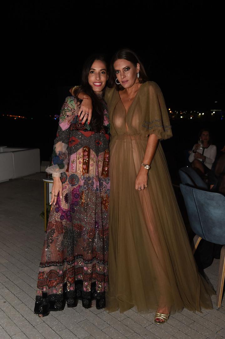 Lauren Gnazzo & Jilian Sanz Wearing Vale