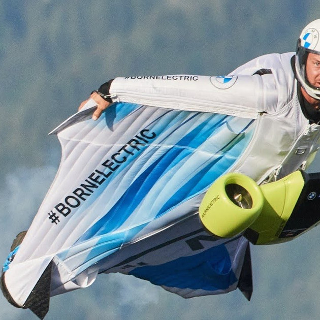 BMW'S flying suit is all set to be released in Miami