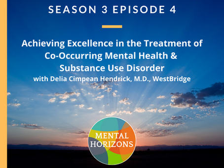 Season 3 Episode 4: Achieving Excellence in Treatment of Co-Occurring Mental Health & Substance Use