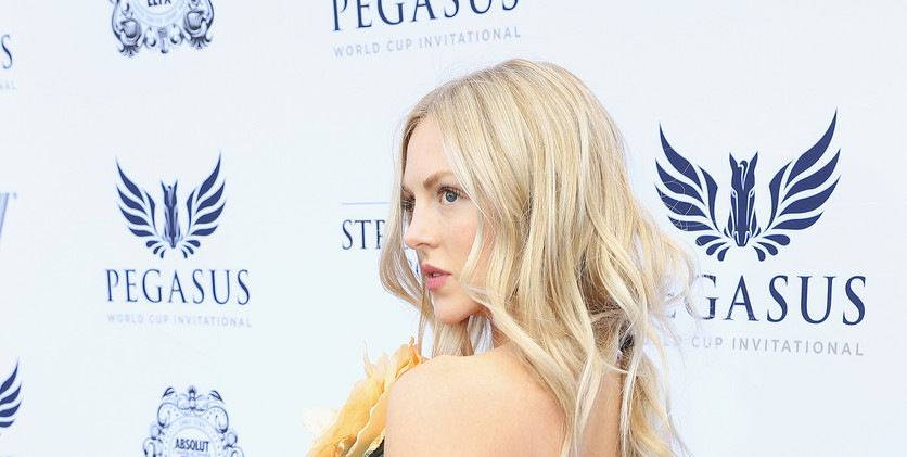 Shea Marie at the $16 Million Pegasus Wo