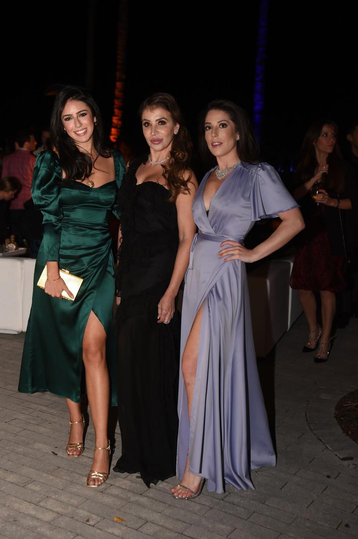 Bianca Nino, Soraya Yanez, & Shana Kaufm