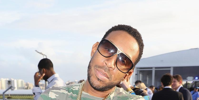 Ludacris at the $16 Million Pegasus Worl
