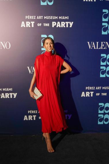Daniela Moreno Wearing Valentino - Photo