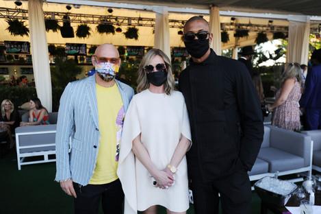 Craig Robins, Belinda Stronach, & Brian