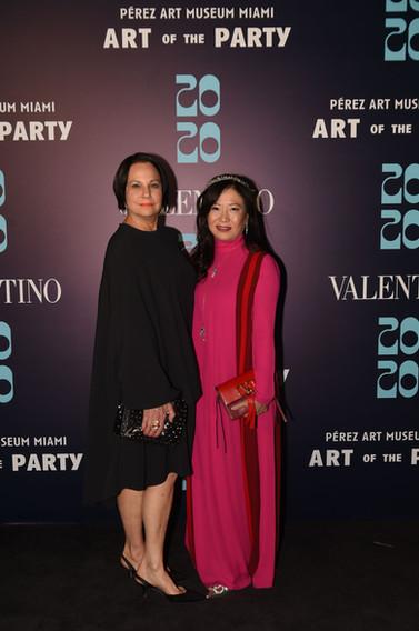 Dale Newberg & Mei Yu Wearing Valentino