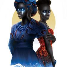 Oba and Oshun