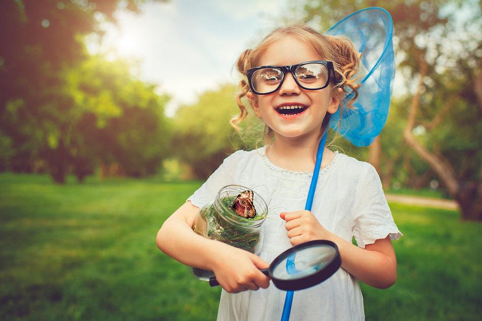 Girl learning freely. Join the modern homeschooling revolution with Freely homeschool planner app