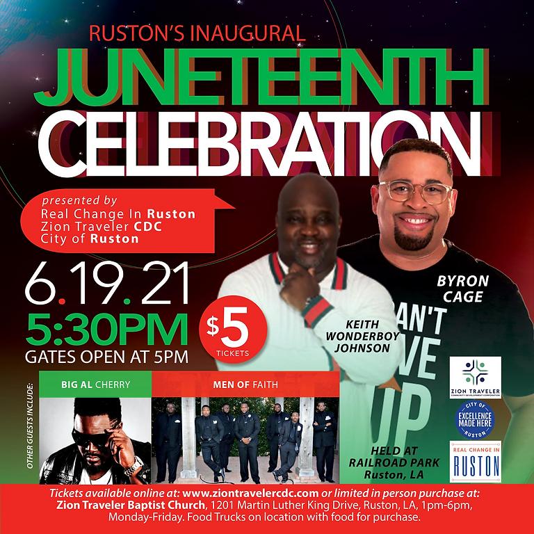 Ruston's Inaugural Juneteenth Celebration