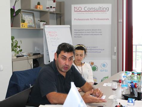"""კომპანია """"GWS"""" - FSSC 22000 და ISO 9001 სერტიფიკატის განახლება"""