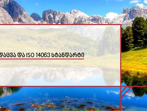 გარემოს დაცვა და ISO 14063 სტანდარტი