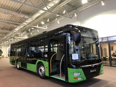 თბილისს 50 ახალი ევროპული სტანდარტის ავტობუსი მოემსახურება