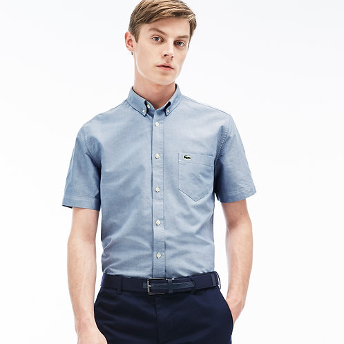 REGULAR FIT SHIRT IN OXFORD COTTON