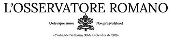 L'Osservatore Romano logo