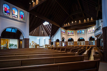 Inside of Christ the Redeemer church