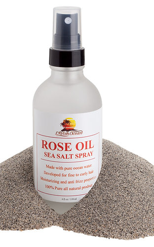 Rose Oil Sea Salt Spray