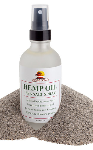 Hemp Oil Sea Salt Spray
