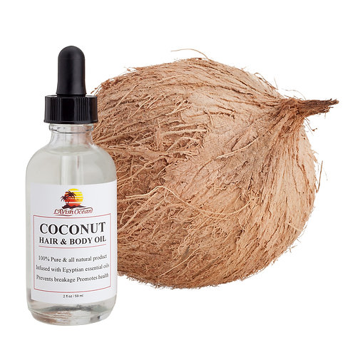 Coconut Hair & Body Oil