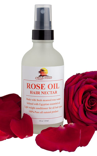 Rose Oil Hair Nectar