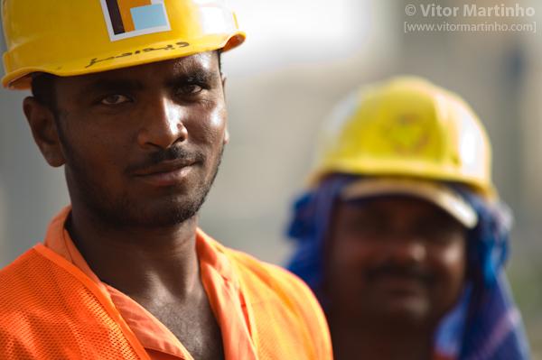"""Dubai construction workers"""