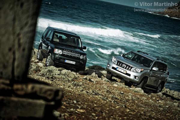 """""""Range Rover VS Land Cruiser 1"""""""