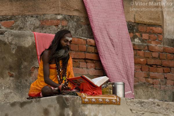 """""""Sadhu Baba praying"""""""