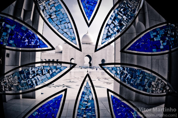 """Flower patternSheikh Zayed's Mosque"