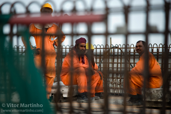 """Construction workers: Guantanamo?"""