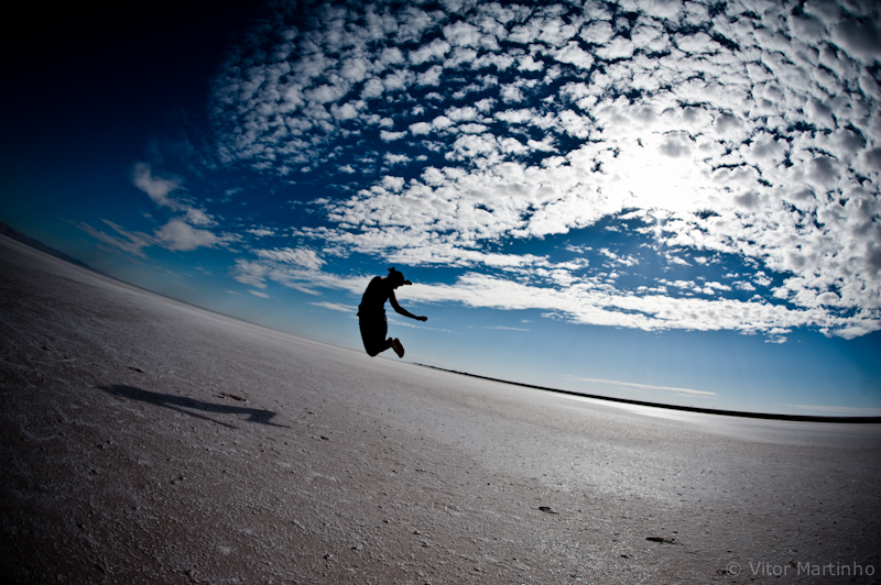 """Felicidade num salto"""