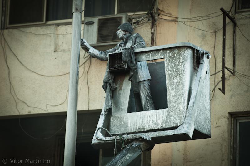 """Human statue"""
