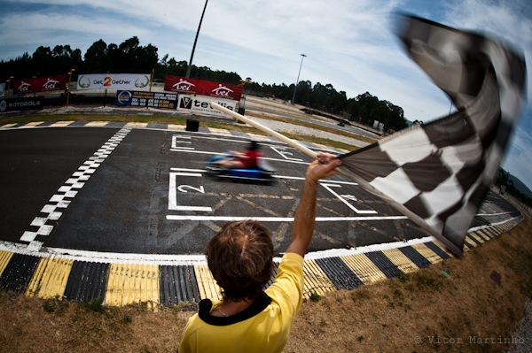 """Crossing the checker flag"""