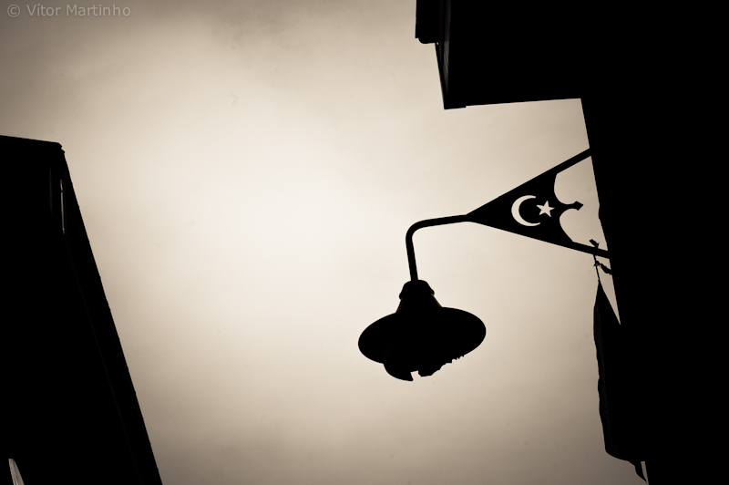 """Turkish lamp silhouette"""
