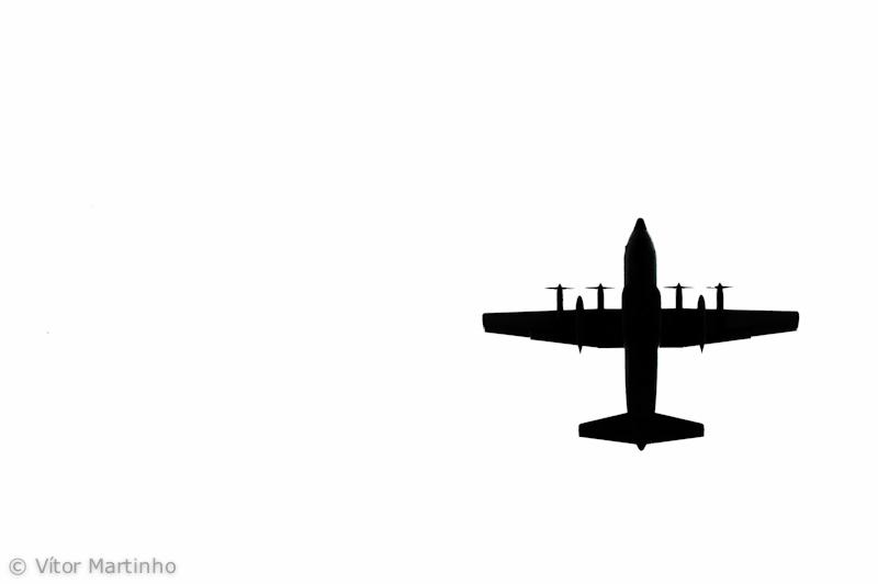 """""""C-130 silhouette"""""""