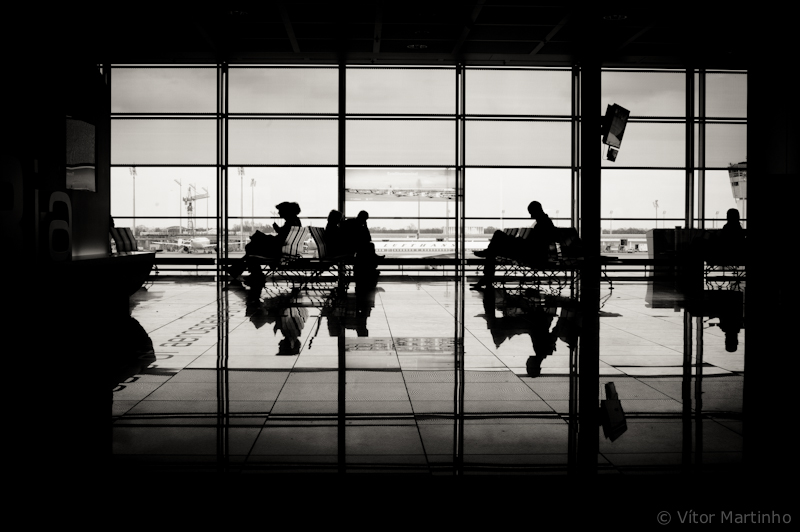 """""""Airport's silhouette"""""""