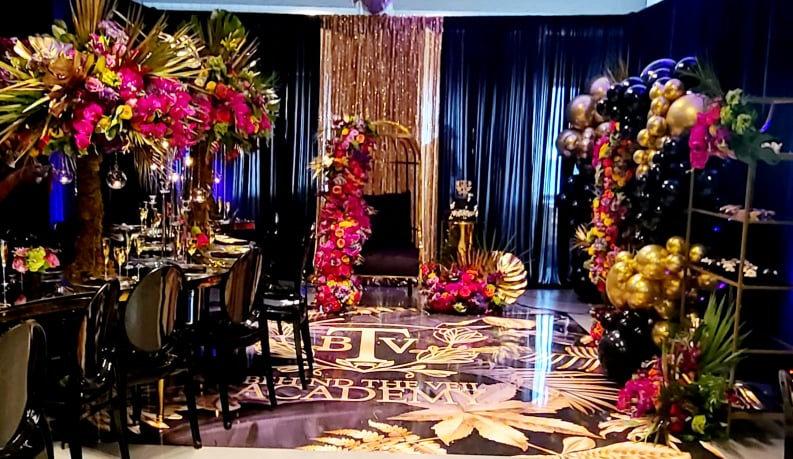Tropical Wedding Event