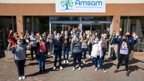 Haut les mains à l'AMSAM !