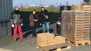Covid-19 : L'AMSAM engagée dans la collecte de denrées alimentaires