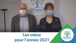 Les vœux de l'AMSAM pour l'année 2021