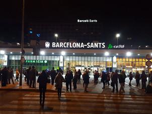 Allarme bomba, evacuati due treni a Barcellona