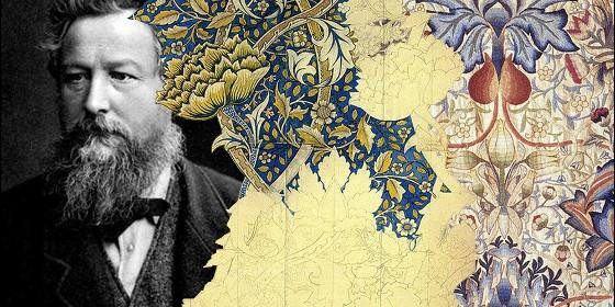 William Morris, precursore del design al museo d'arte di Catalunya - Barcellona