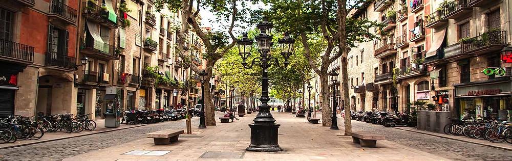 Barrio del Borne a Barcellona