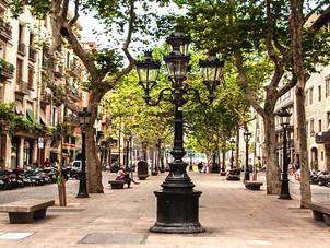 Una ragazza italiana a Barcellona - In principio era il Borne