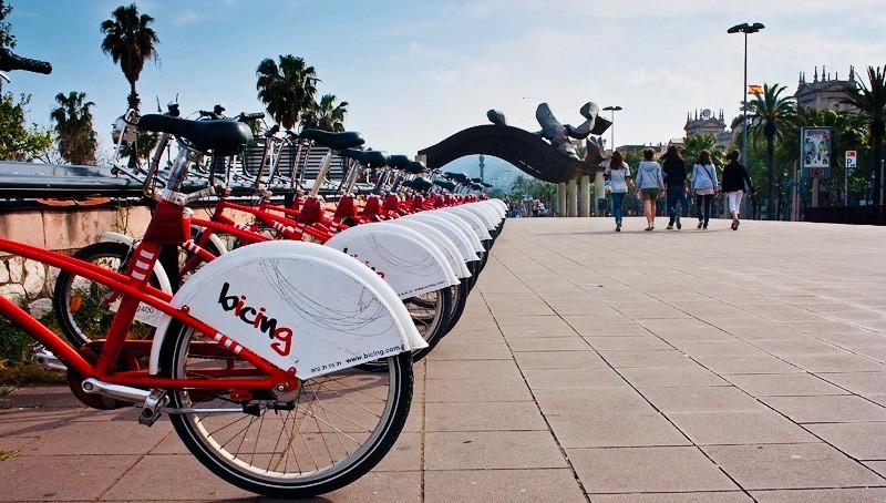Bicing noleggio biciclette - visitare Barcellona in bici