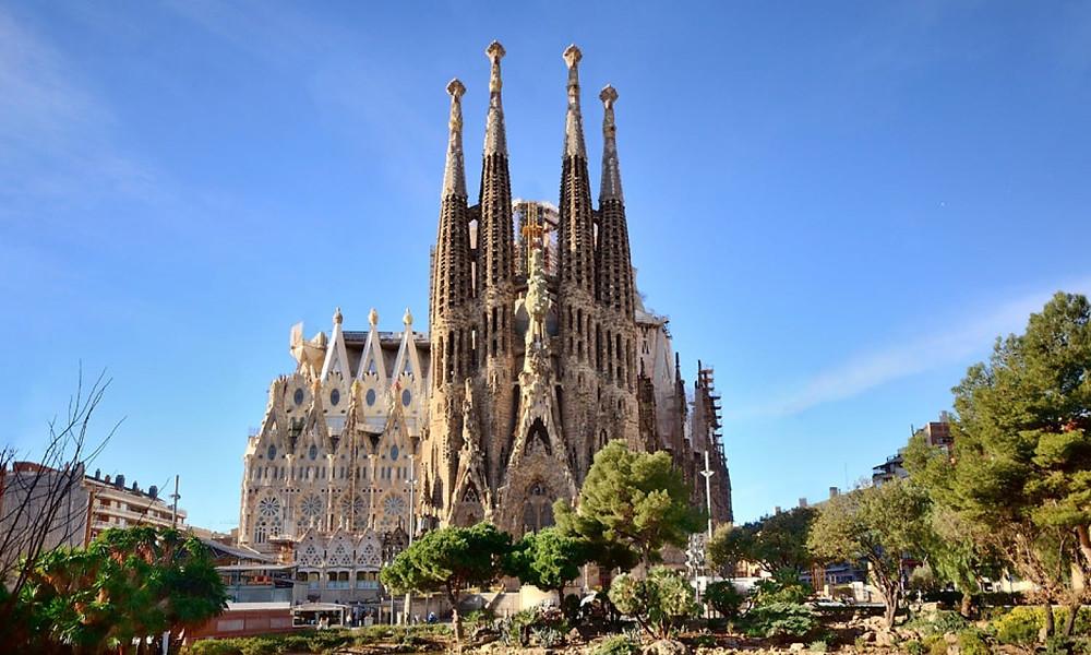 Sagrada Familia - Piano anti terrorismo - Italiani a Barcellona